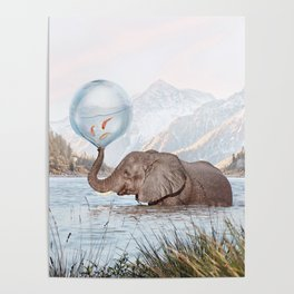 In a Bubble Poster