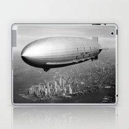 Airship over New York Laptop & iPad Skin