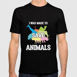 Veterinarian Doctor Save Animal Rescuer Vet Tech T-shirt