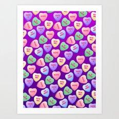Bitter Sweets Art Print