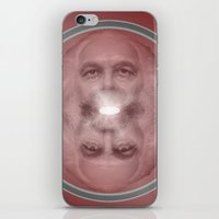 marx iPhone & iPod Skins featuring Good Guy Marx by Aléatoire Mec