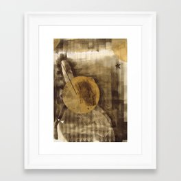 bcsm 002 (darkstar) Framed Art Print