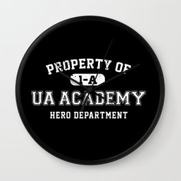 Property of UA Academy Wall Clock