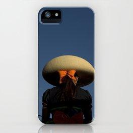Escaramuza rider iPhone Case