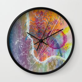 adore you Wall Clock