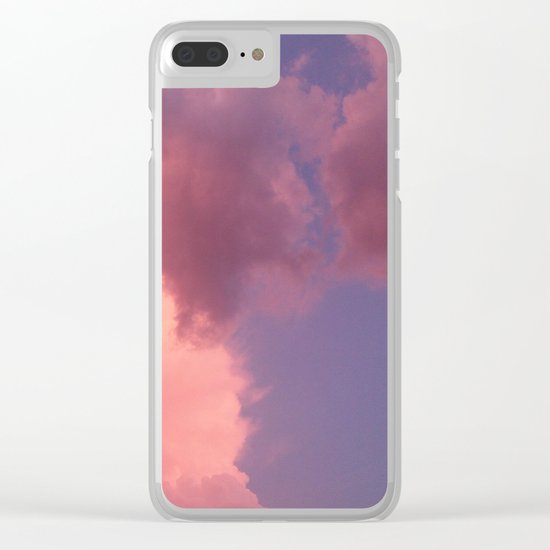Sunset in Budapest Clear iPhone Case