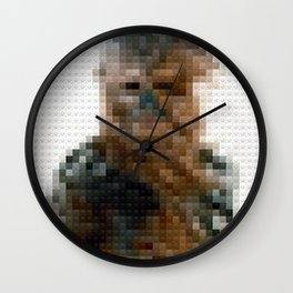 Toy Building Brick Chewie Wall Clock