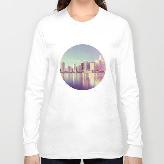 Vintage Miami Long Sleeve T-shirt