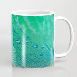 Emerald Feather Coffee Mug