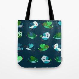 Spring Time Birds Tote Bag