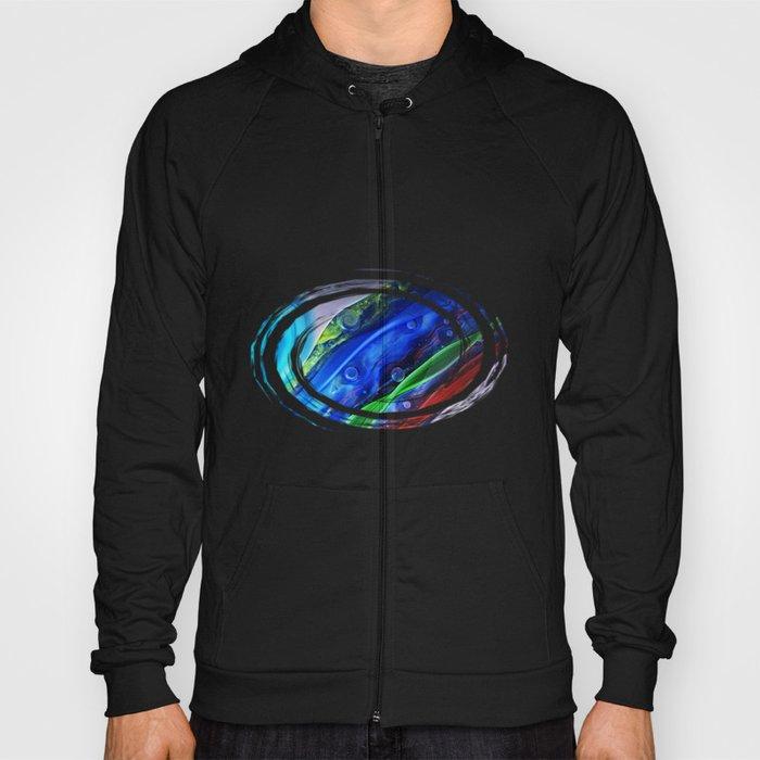 Abstract Glass Galaxy Hoody