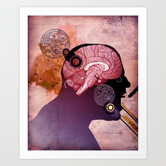 Daniel's Head Art Print