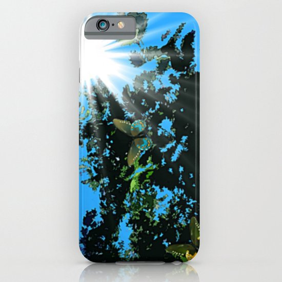On the edge of the garden. iPhone & iPod Case