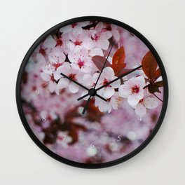 cherry plum candy Wall Clock
