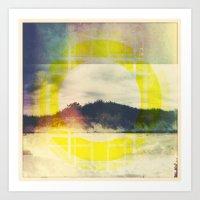 The Rising Art Print