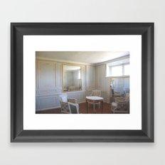 Through a glass Framed Art Print