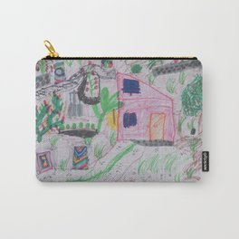 Place of Love, green Garden - Handmade from Pascal   (A7 B0239) Carry-All Pouch