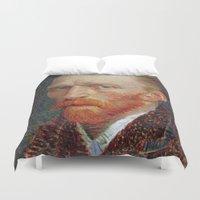 van gogh Duvet Covers featuring Van Gogh 1887 by Palazzo Art Gallery