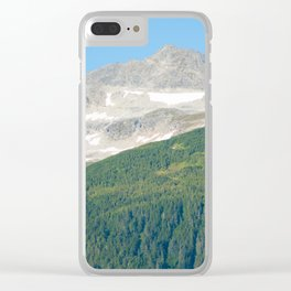Sky Earth & Wilderness Clear iPhone Case