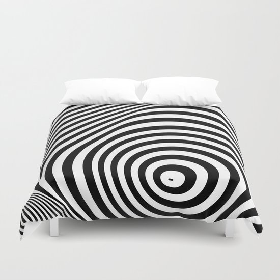 abstract striped background Duvet Cover