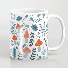 Winter mushrooms Coffee Mug