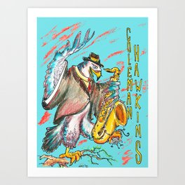 Coleman Hawkins Art Print