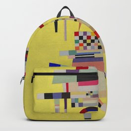 Wassily Kandinsky - Yellow Painting Backpack