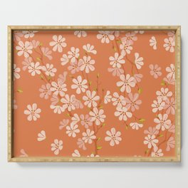 Sunset. Cherry Blossom. Serving Tray