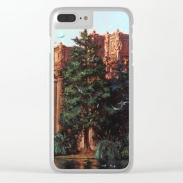 What Comes From Above Clear iPhone Case