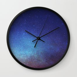 night sky  Wall Clock