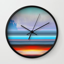 Carmel by Kenny Rego Wall Clock