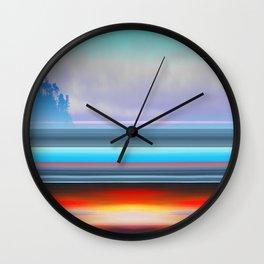 Carmel by Kenny Rego Wall Clock