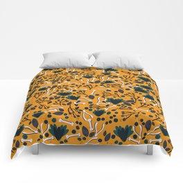 Botanical Boneyard Comforters