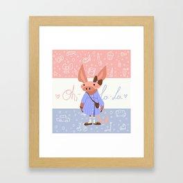 Oh- La-La! Framed Art Print