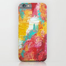 AUTUMN SKIES - Amazing Fall Colors Thunder Storm Rainy Sky Clouds Bold Colorful Abstract Painting Slim Case iPhone 6s