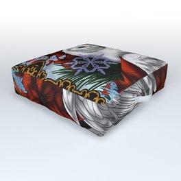 Winter winds Outdoor Floor Cushion