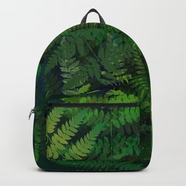 Forest fern Backpack