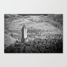Wallace Monument, Stirlingshire Canvas Print