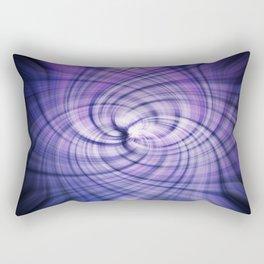 Purlple Vortex Rectangular Pillow