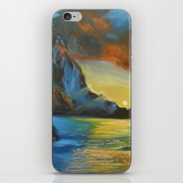 Sunset 1 iPhone Skin