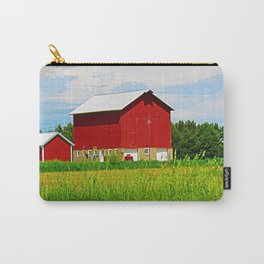 Red Barns and Field Carry-All Pouch