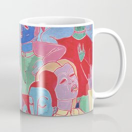 Alien Party Hard Coffee Mug