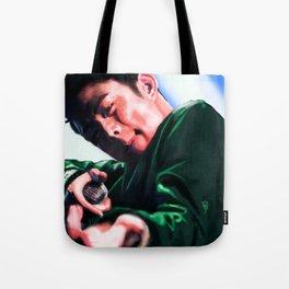 Beenzino in Action Tote Bag