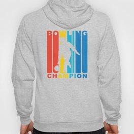 Retro 1970's Style Bowling Champion Hoody