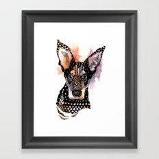 Lexy Framed Art Print