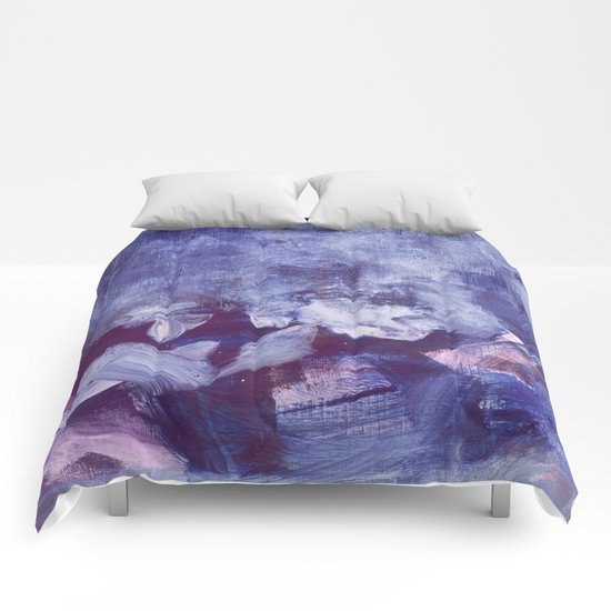 night clouds Comforters