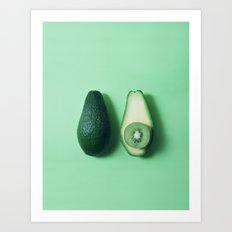 HOLY GUACAMOLE! (without text) Art Print