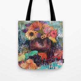 Botanical Remix (by912-StreetDreams) Tote Bag