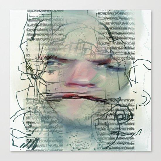 Byline Canvas Print