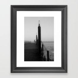 The bridge of passion Framed Art Print